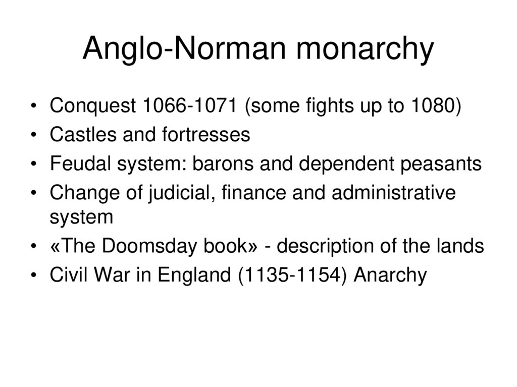Anglo-Norman monarchy