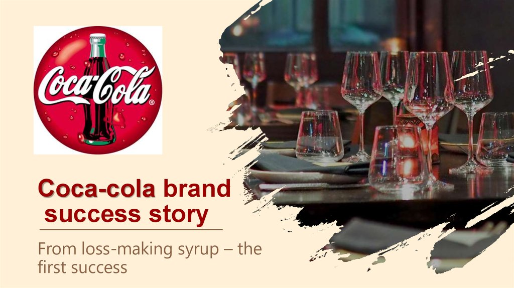 Coca-cola brand success story