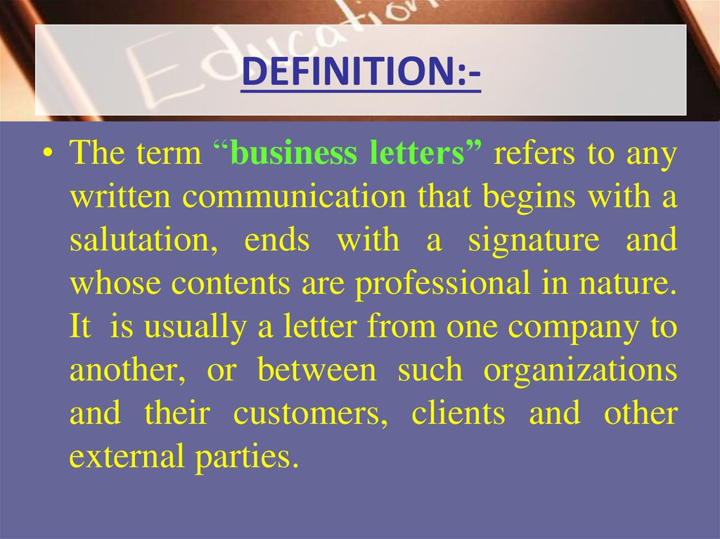 Definition Of Business Letter from cf2.ppt-online.org