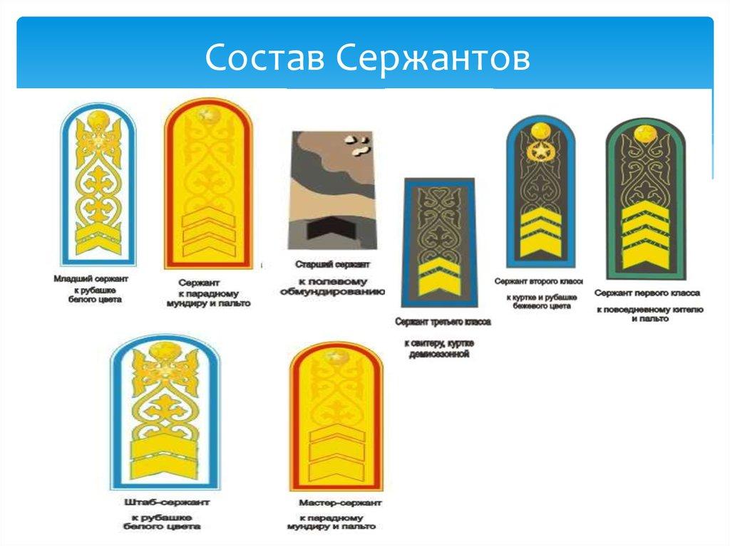 воинские звания казахстана с картинками что большая часть