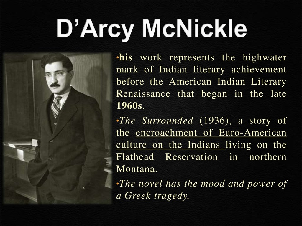 D'Arcy McNickle