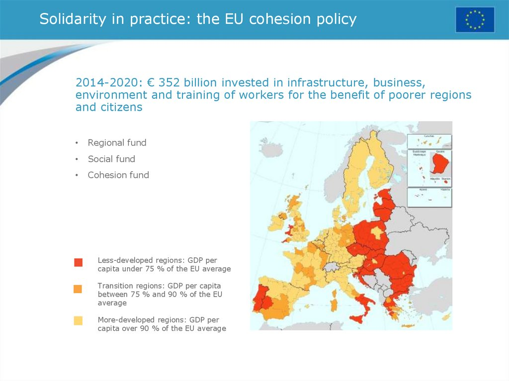 Solidarity in practice: the EU cohesion policy