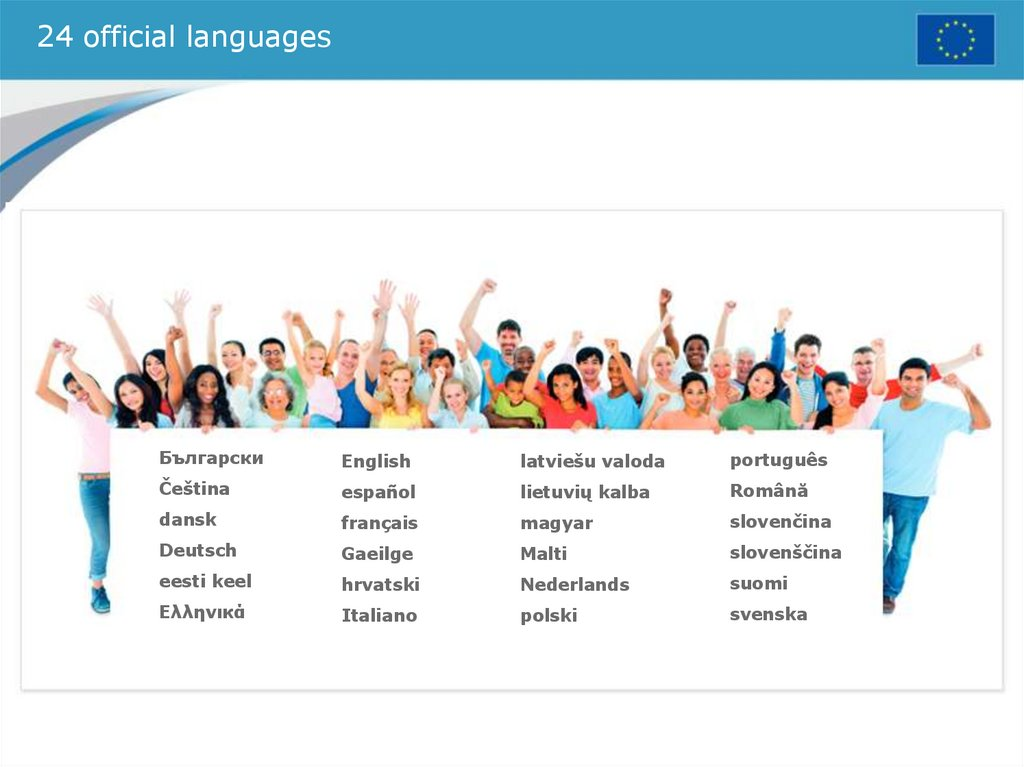 24 official languages