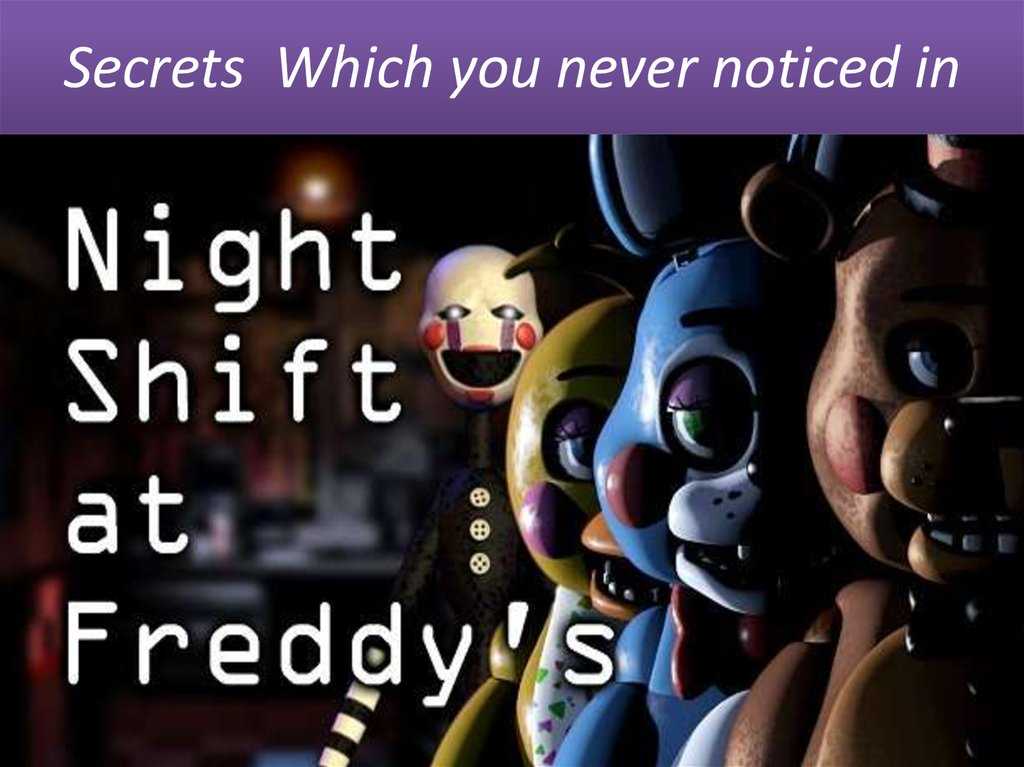 Secrets Which you never noticed in