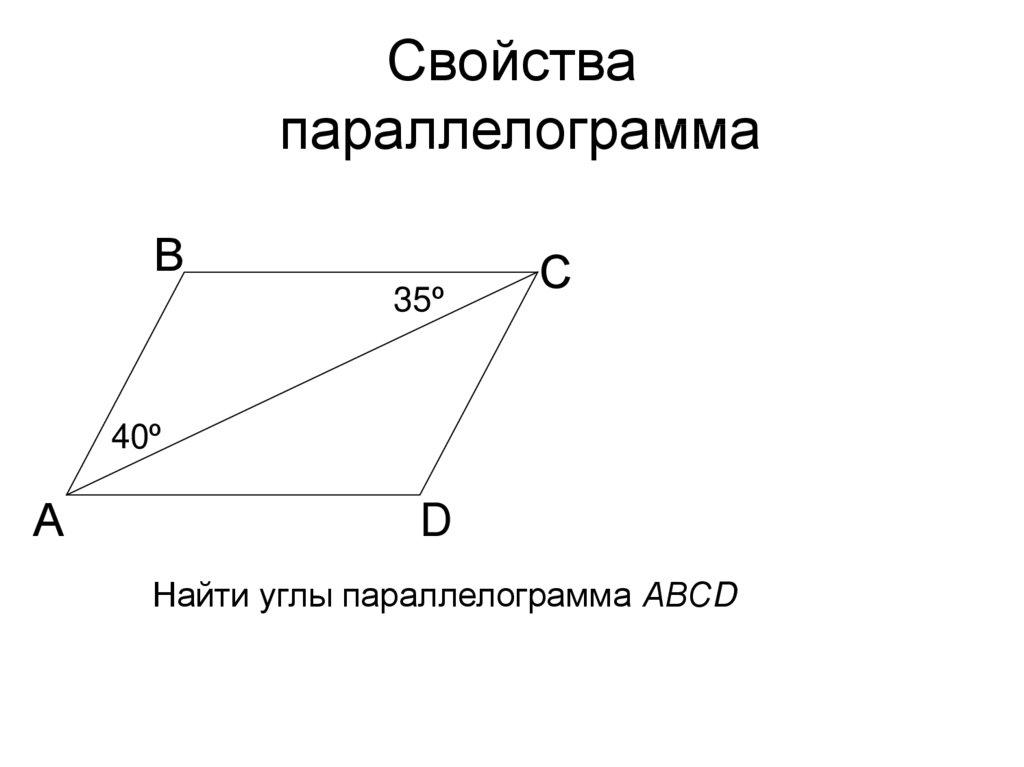Решение задач по готовым чертежам параллелограмм энтропия решения задач