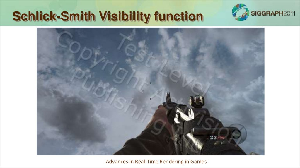 Schlick-Smith Visibility function