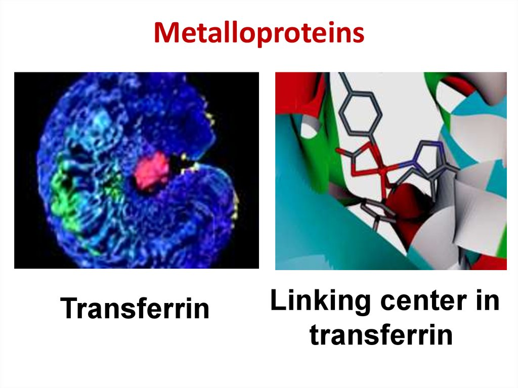 Metalloproteins