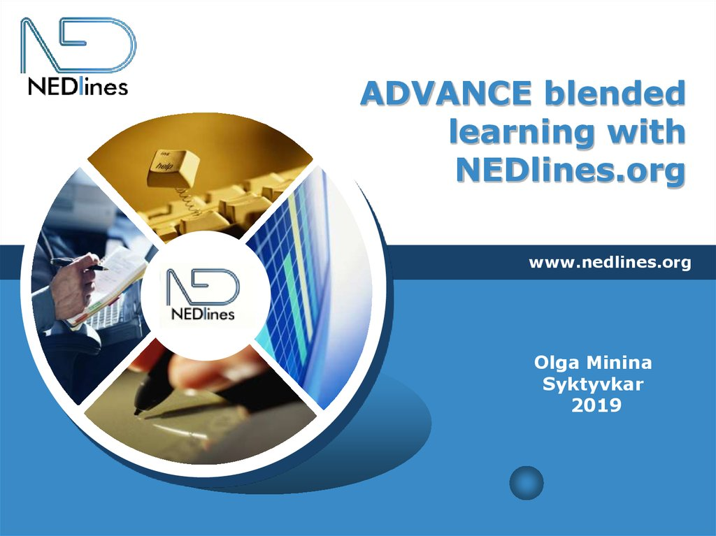 ADVANCE blended learning with NEDlines.org