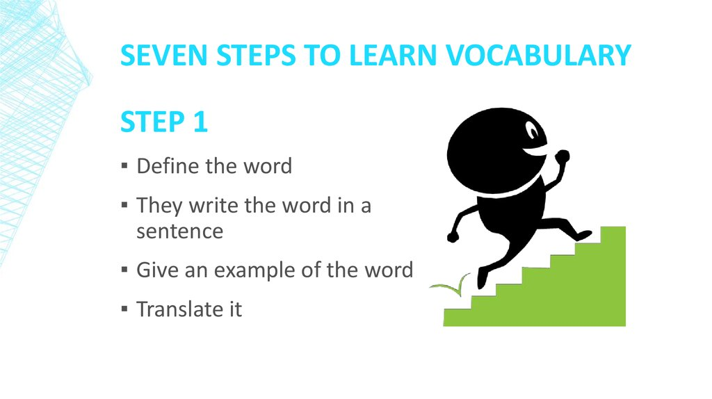 Seven Steps to Learn Vocabulary
