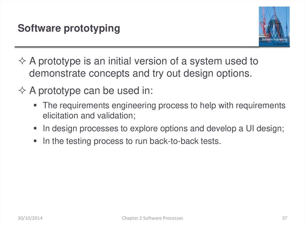 Software Processes Online Presentation