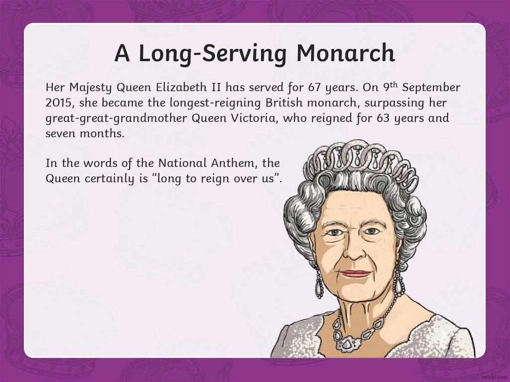 A Long-Serving Monarch