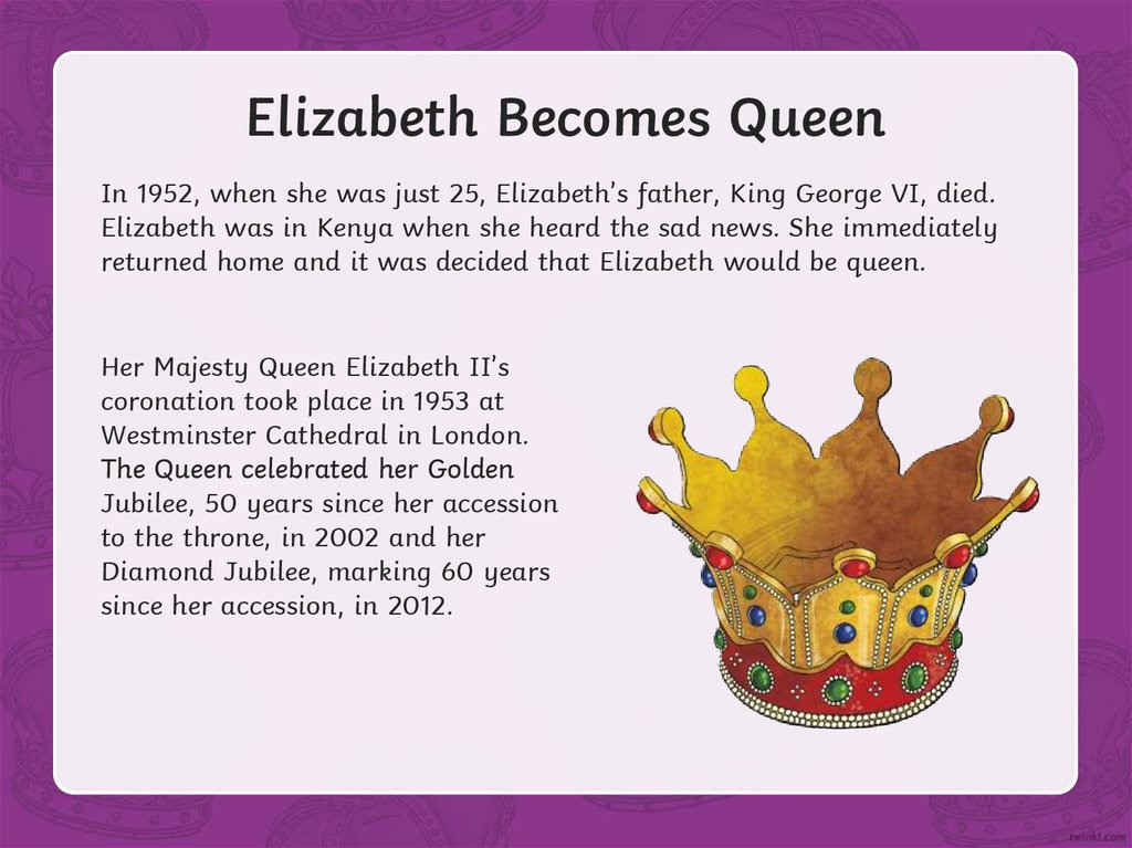 Elizabeth Becomes Queen