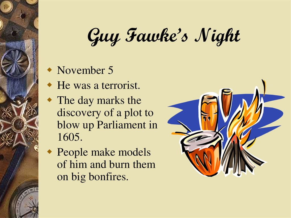 Guy Fawke's Night