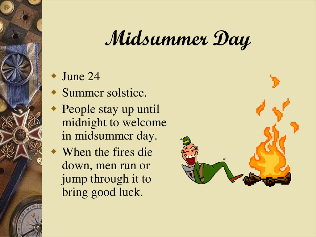 Midsummer Day