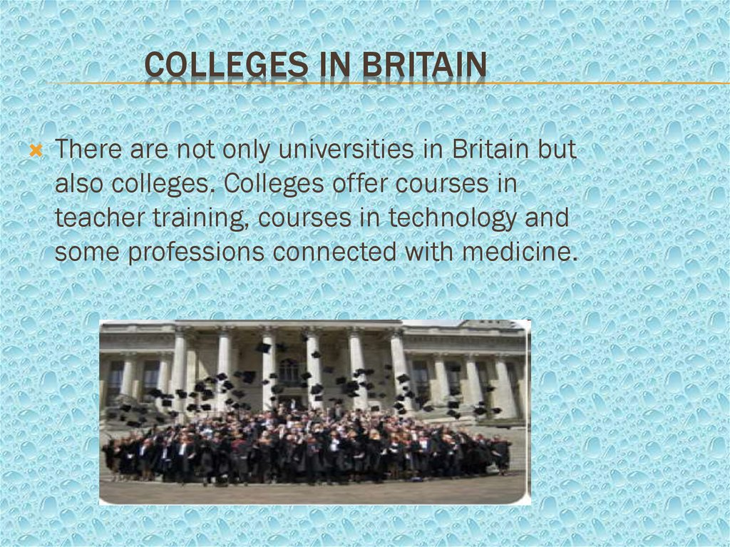 Colleges in Britain