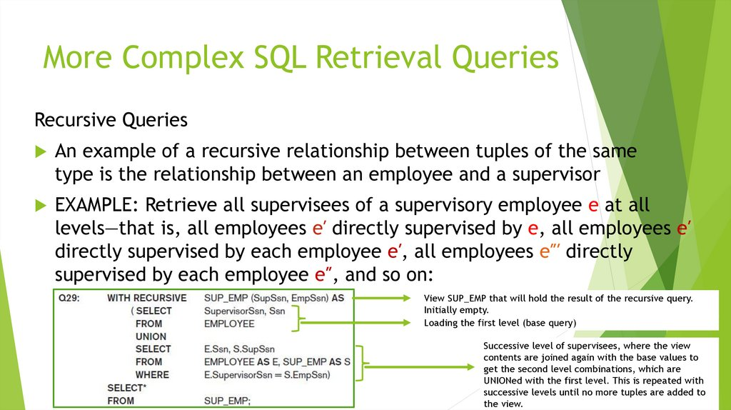 Data Modeling and Databases II - The Relational Data Model and SQL