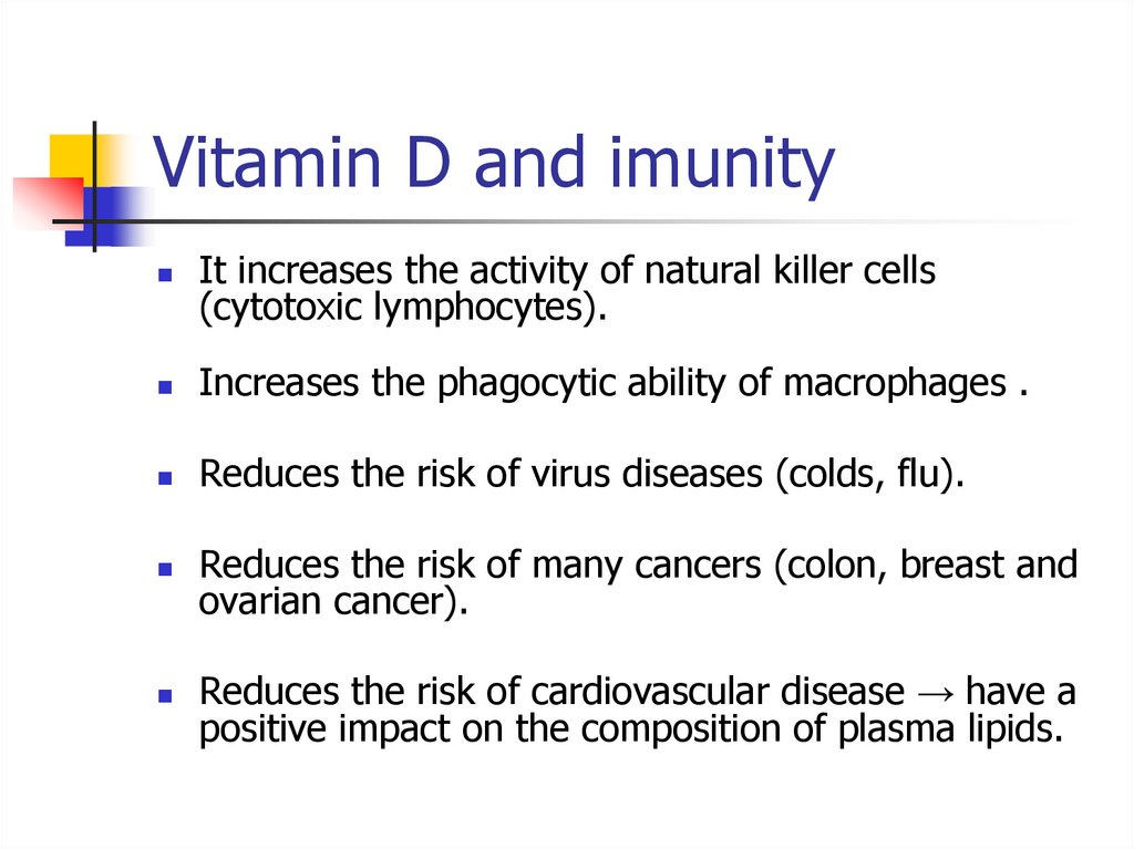 Vitamin D and imunity