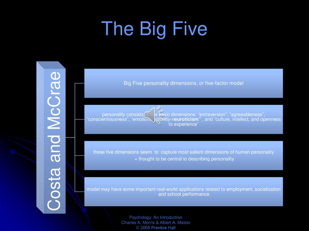 The Big Five
