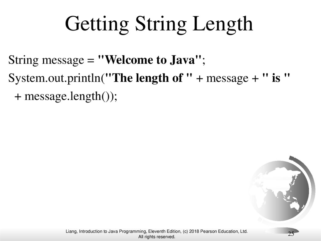 Getting String Length
