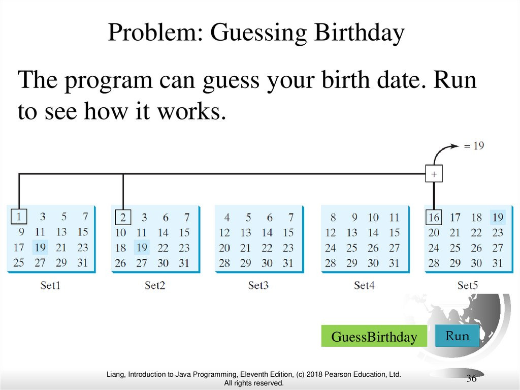 Problem: Guessing Birthday