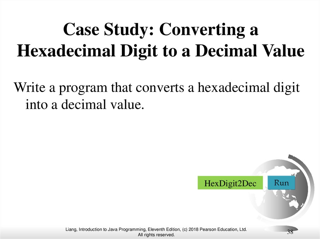 Case Study: Converting a Hexadecimal Digit to a Decimal Value
