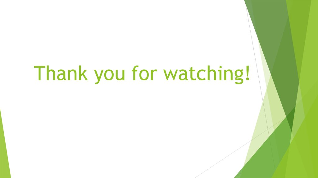 Thank you for watching!