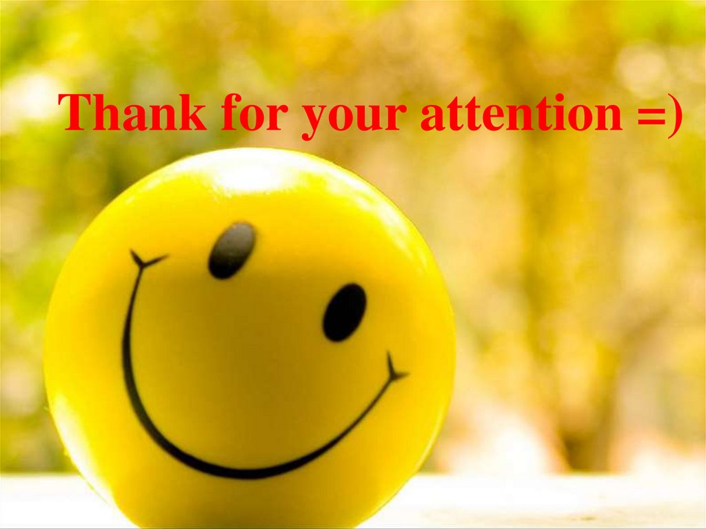 Thank for your attention =)