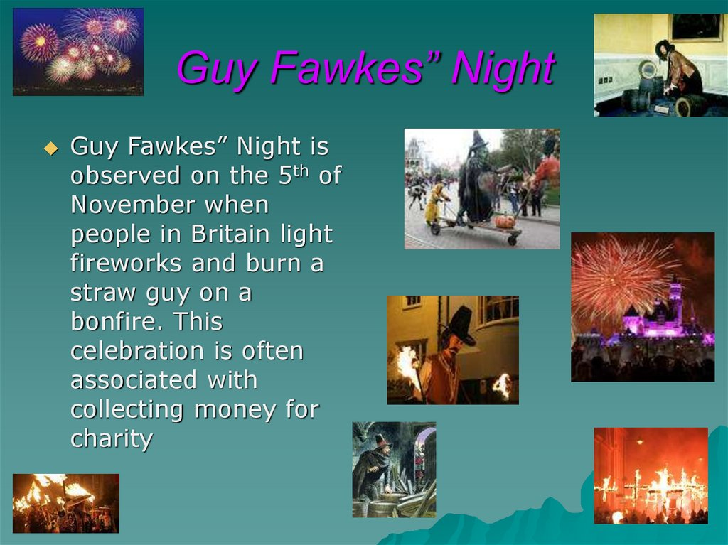 "Guy Fawkes"" Night"