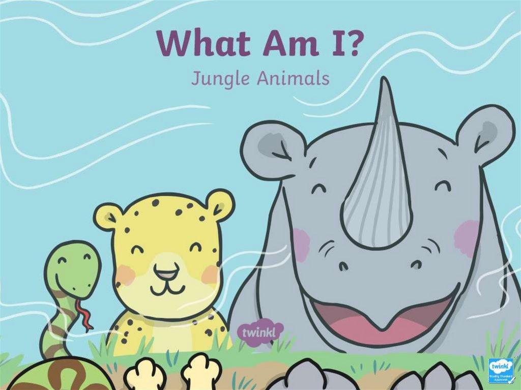 What Am I Jungle Animals Online Presentation