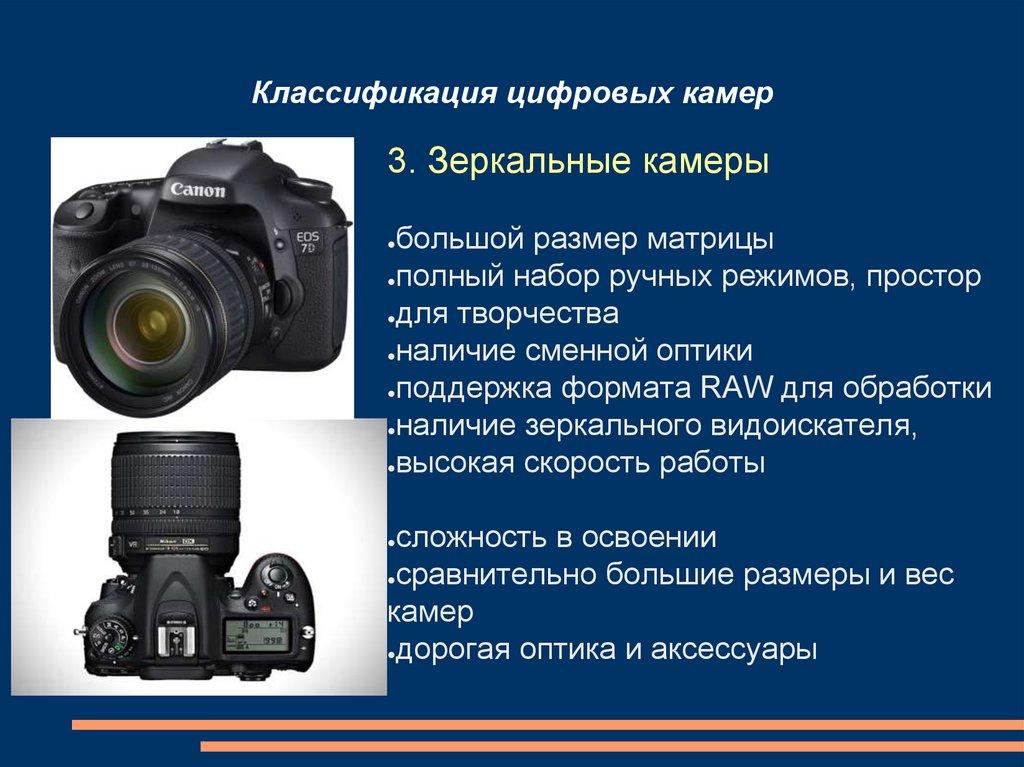 основные характеристики цифрового фотоаппарата спорткар честь