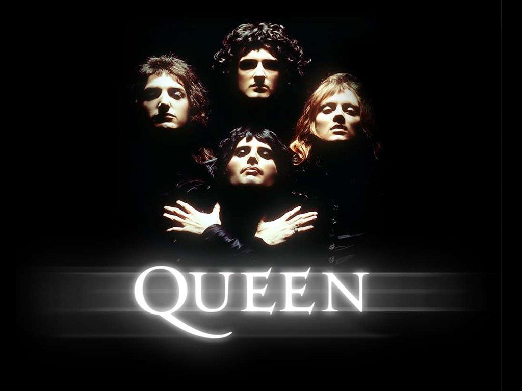 Queen is a British rock band - online presentation