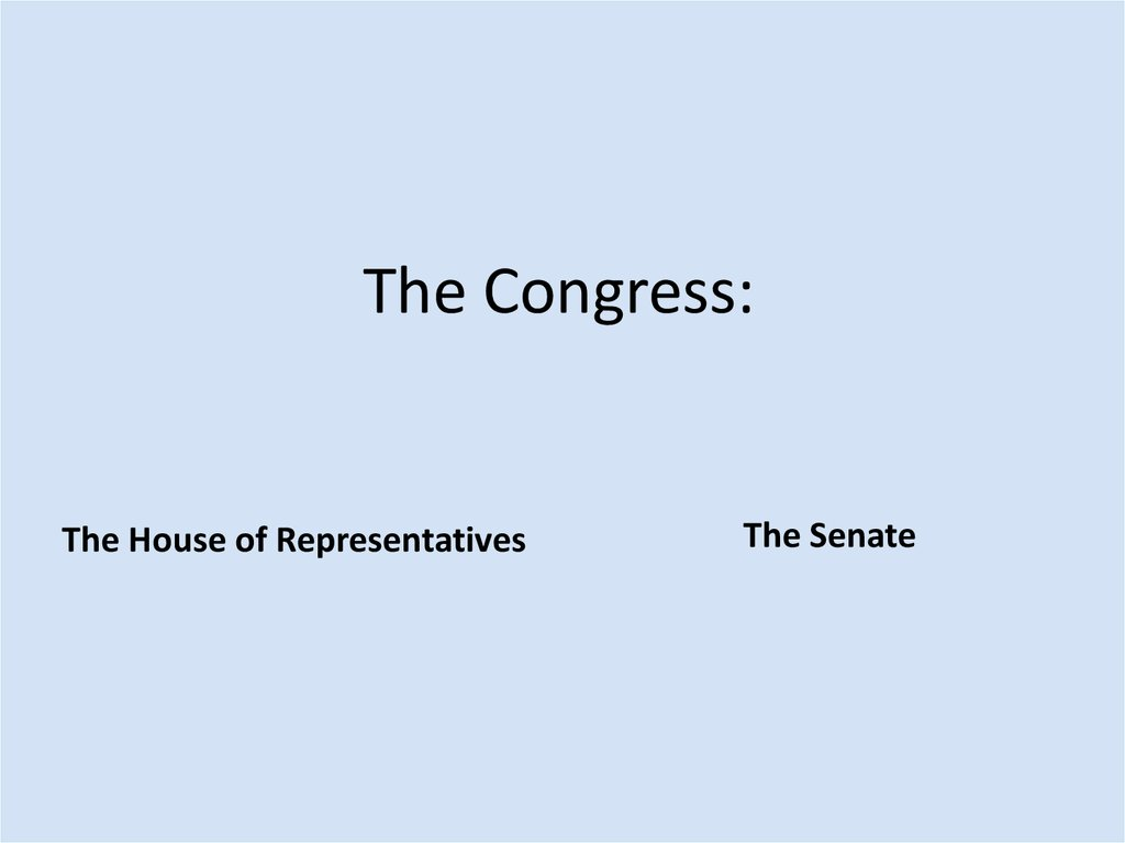 The Congress: