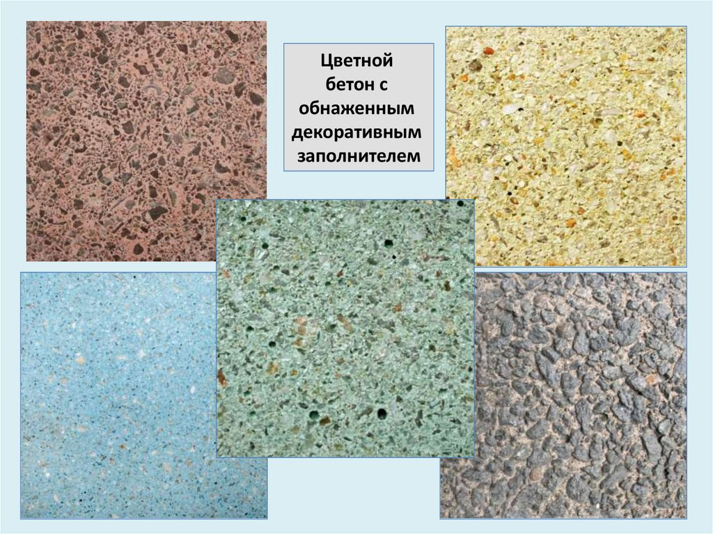 Презентация виды бетонов релаксол для бетона