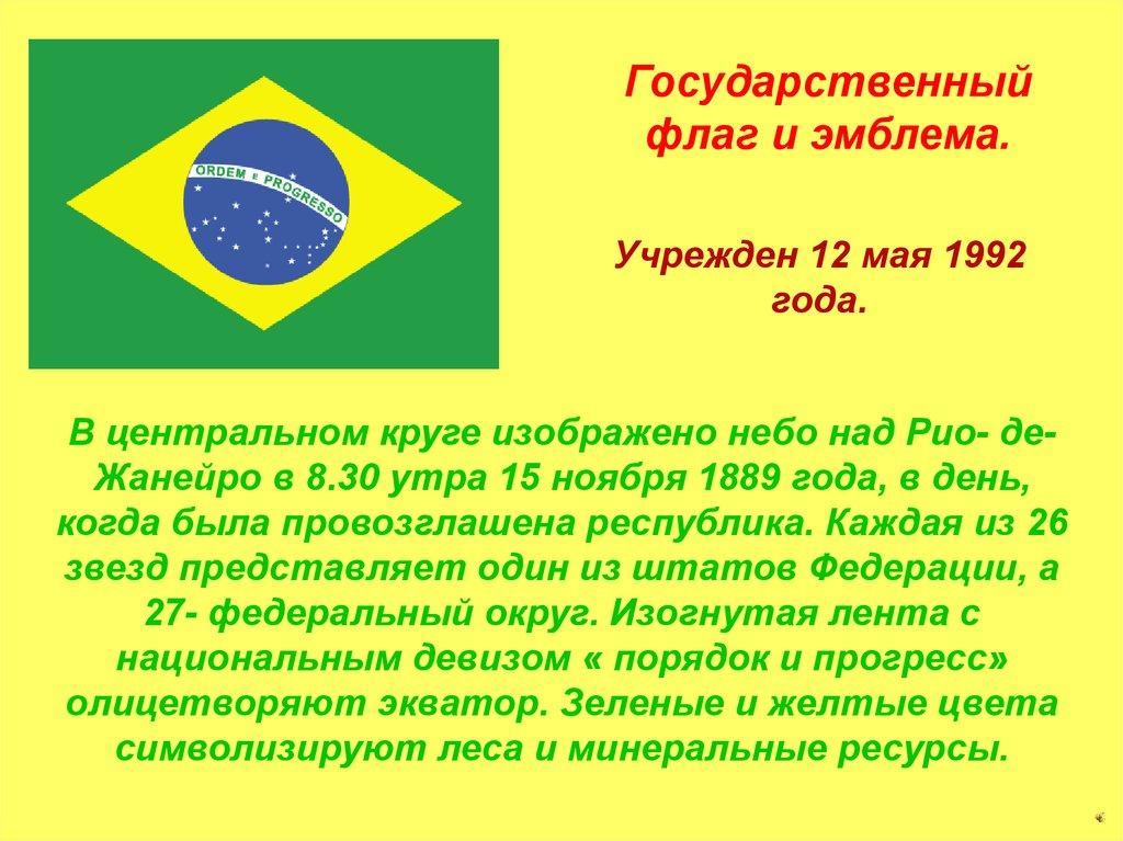 какое место в мире занимает бразилия