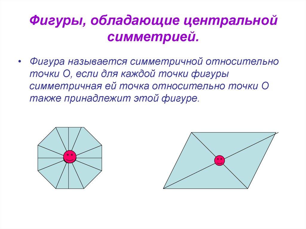 ранних фигуры с центром симметрии картинки торговом