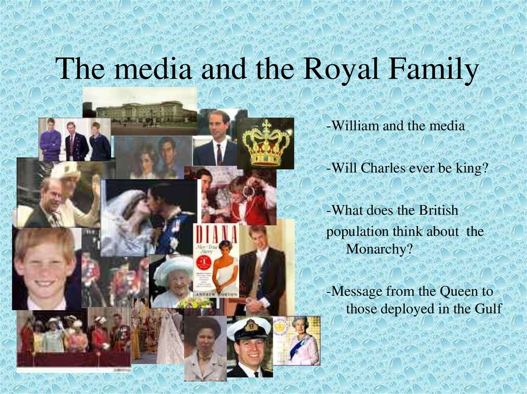 The media and the Royal Family