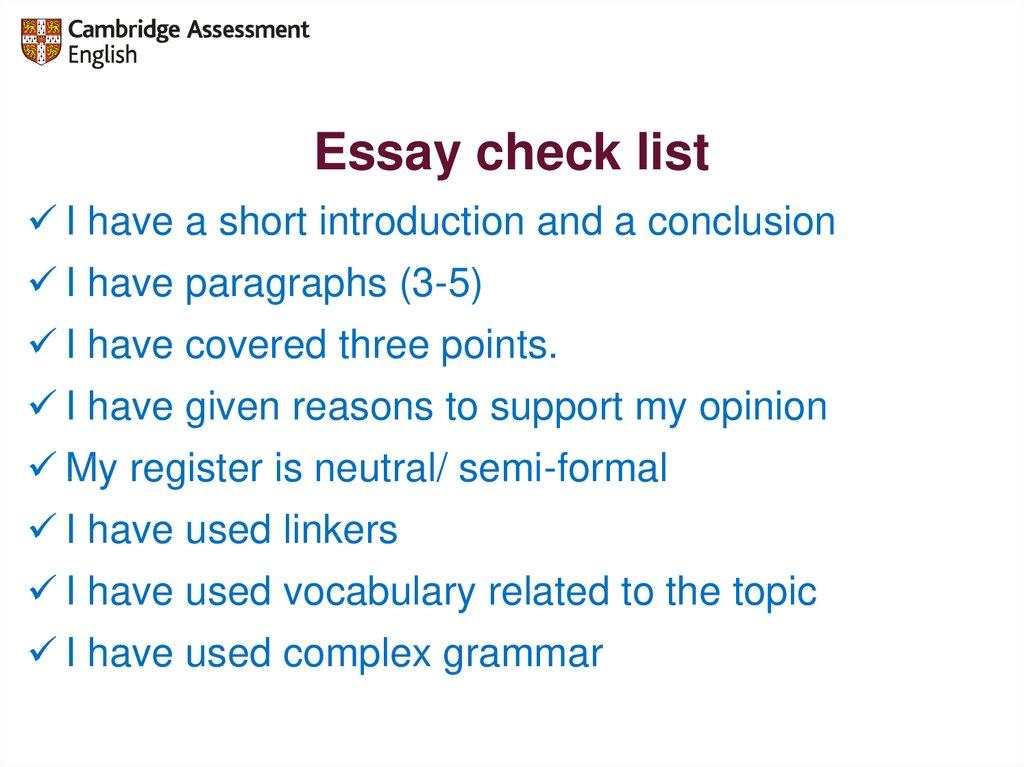 A plan of essay