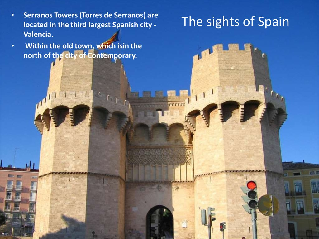 The sights of Spain