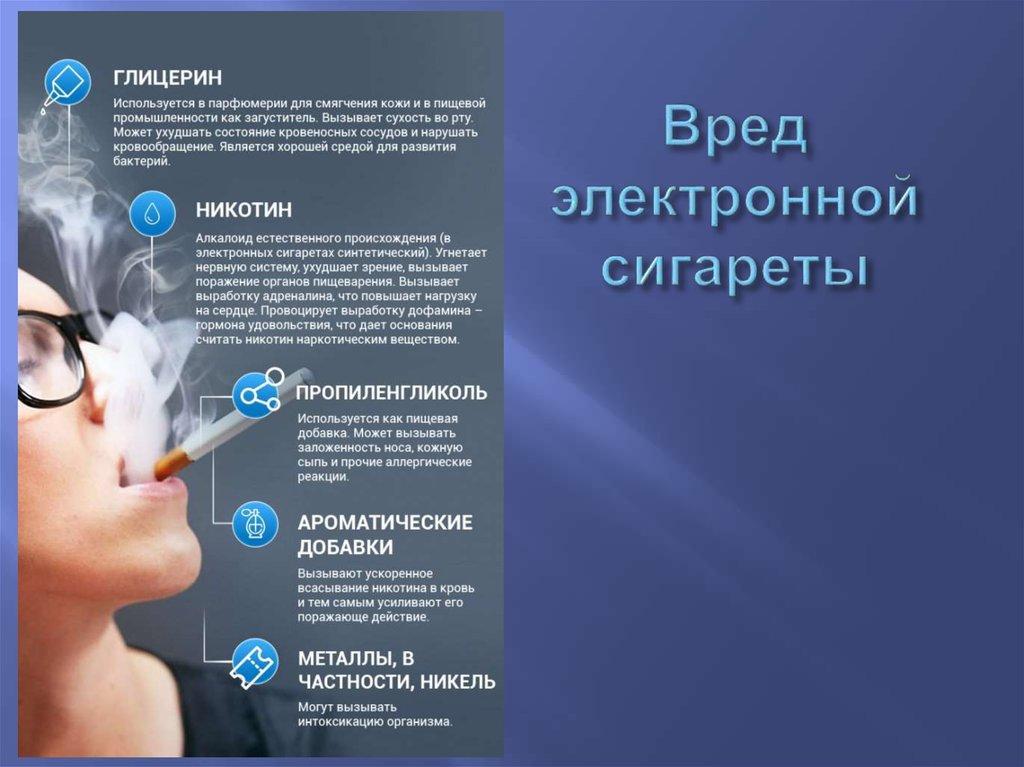 вред от электронных сигарет картинки времена изменились