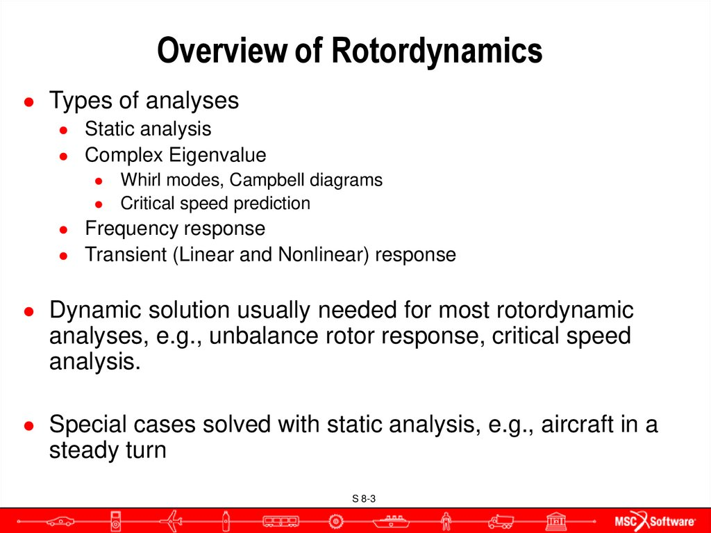 Overview of Rotordynamics