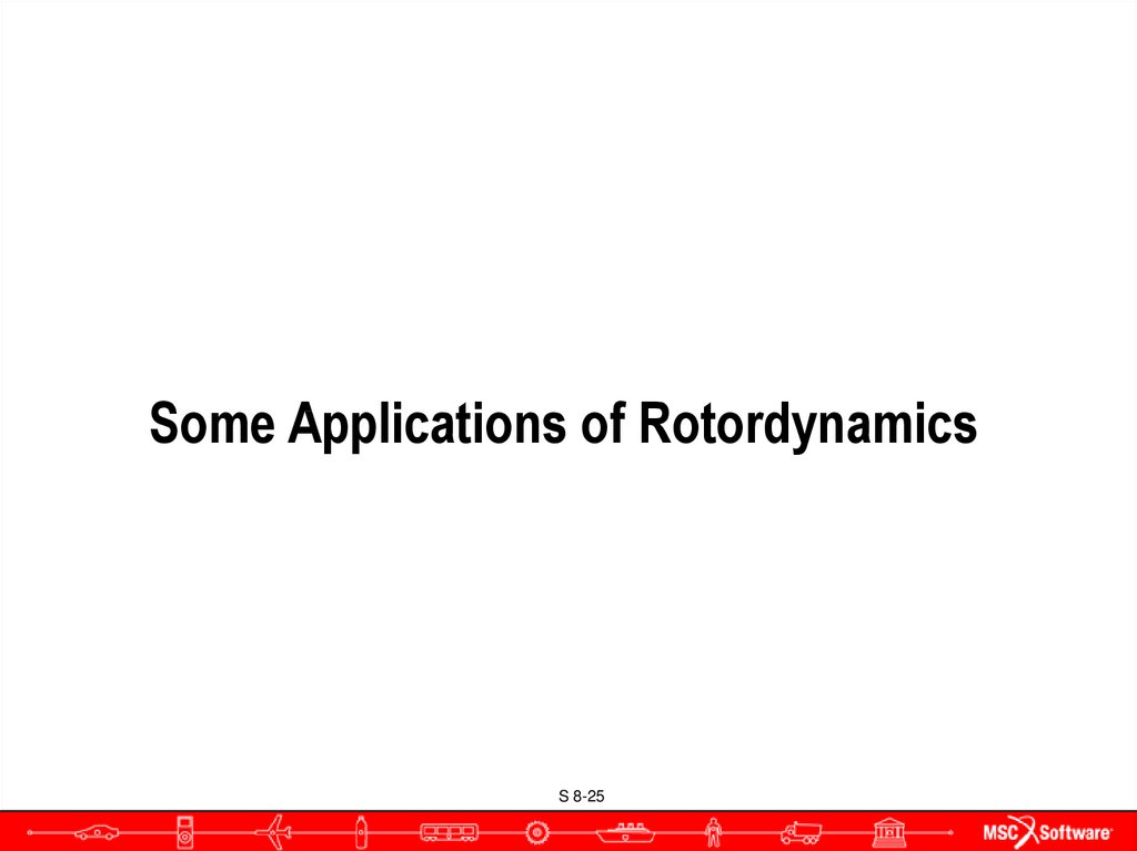 Some Applications of Rotordynamics