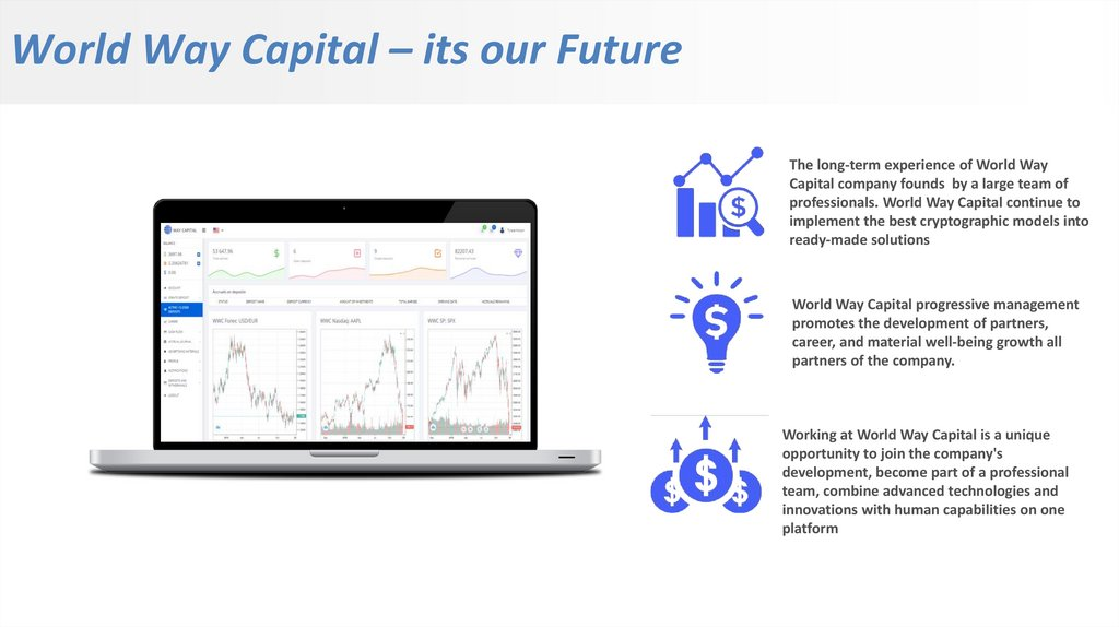 World Way Capital – its our Future