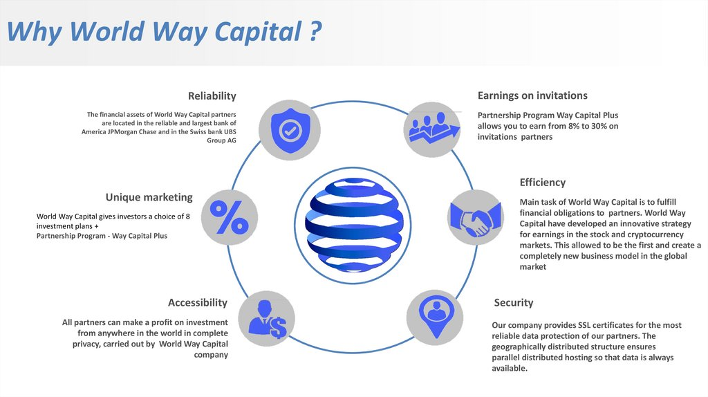 Why World Way Capital ?