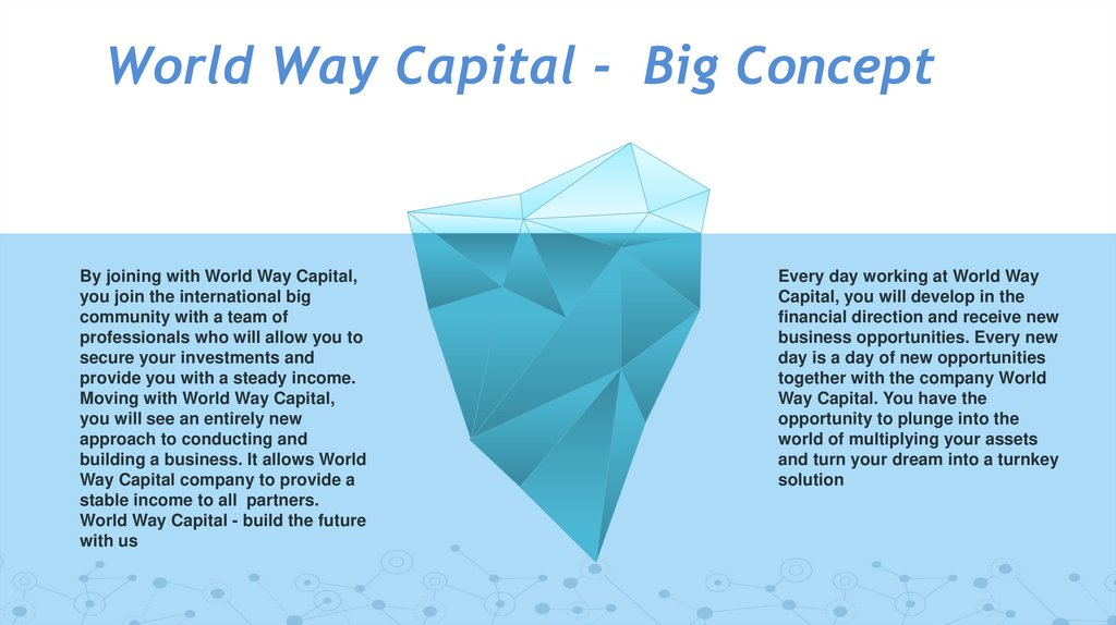 World Way Capital - Big Concept