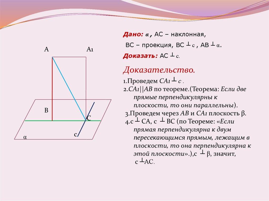 Теорема о трех перпендикулярах задача с решением задачи на сложные проценты примеры решений
