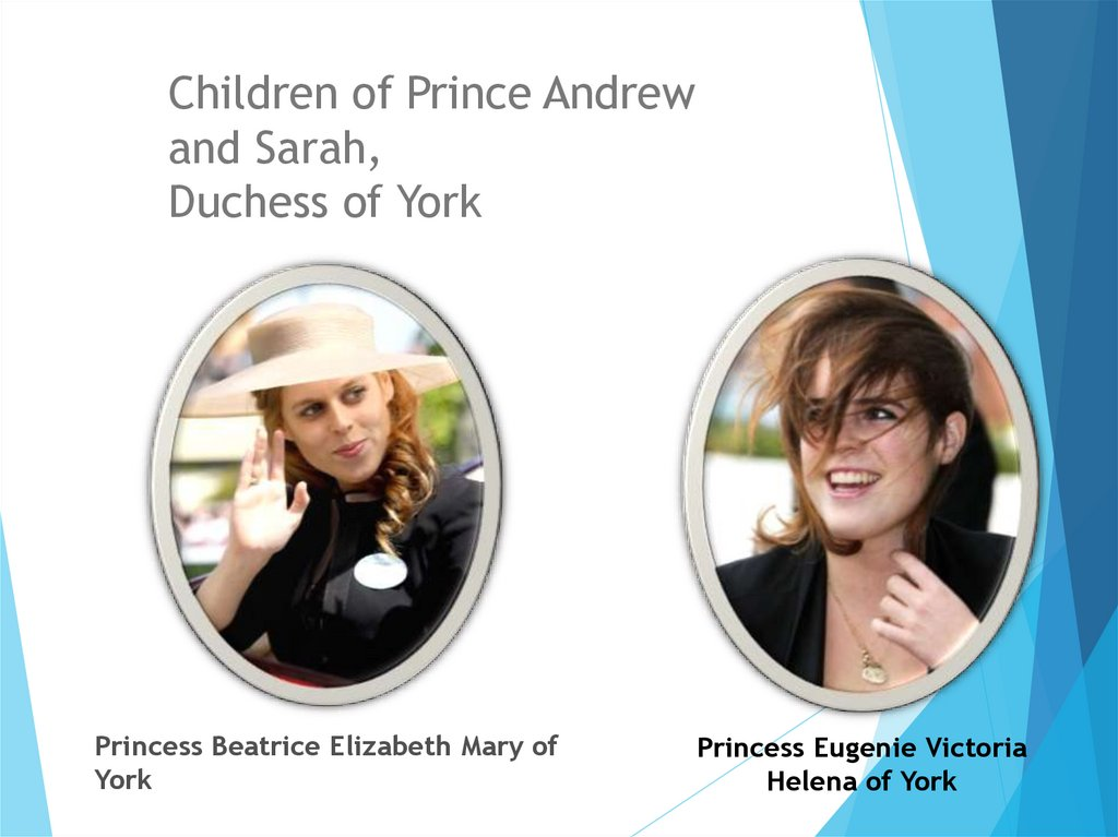 Children of Prince Andrew and Sarah, Duchess of York