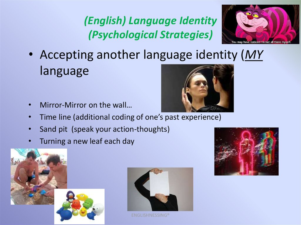 (English) Language Identity (Psychological Strategies)