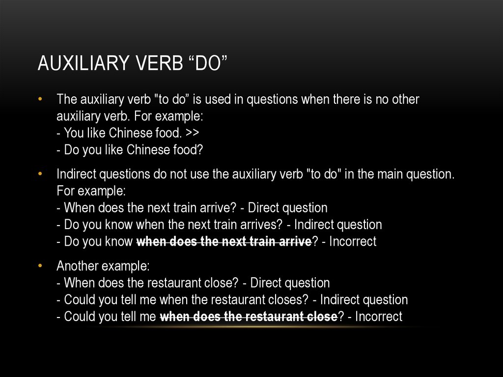 "Auxiliary verb ""do"""