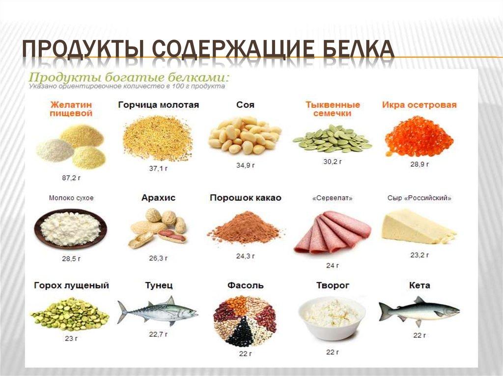 картинки продуктов с большим содержанием белка знаете, как сделать