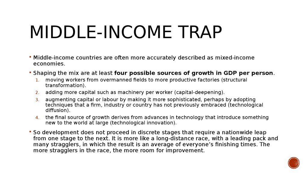 Middle-income trap